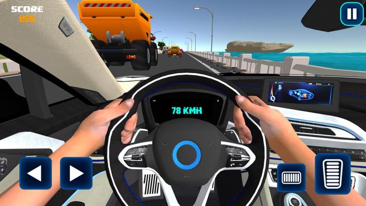 Driving in Car - Simulator