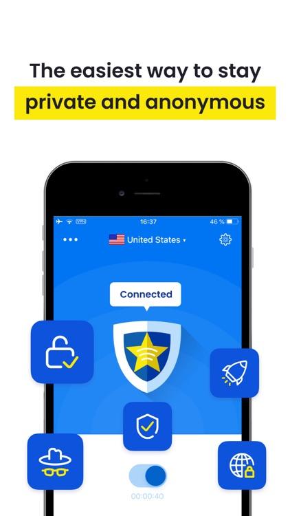 Star VPN: Unlimited WiFi Proxy screenshot-3