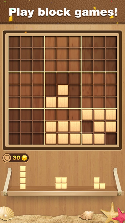 Wood Block Sudoku Puzzle screenshot-0