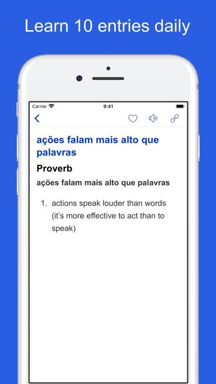 Portuguese Idioms and Proverbs screenshot-5