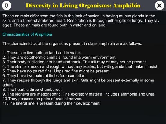 Diversity in Living: Amphibia screenshot 10
