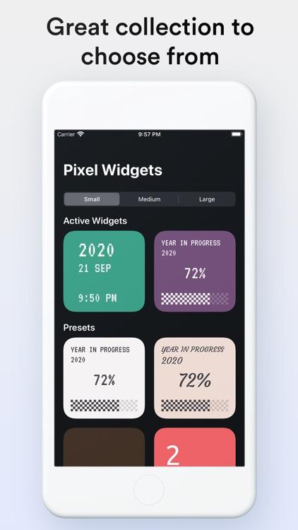 Pixel Widgets screenshot-4