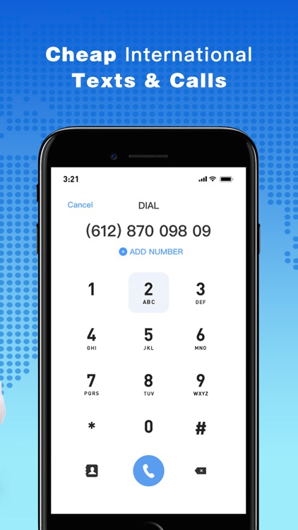 Phone Number-Texting+Call Line