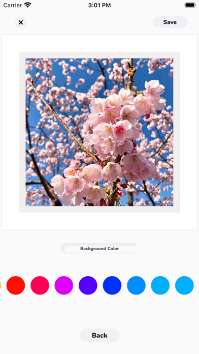 Centered Photos screenshot 3