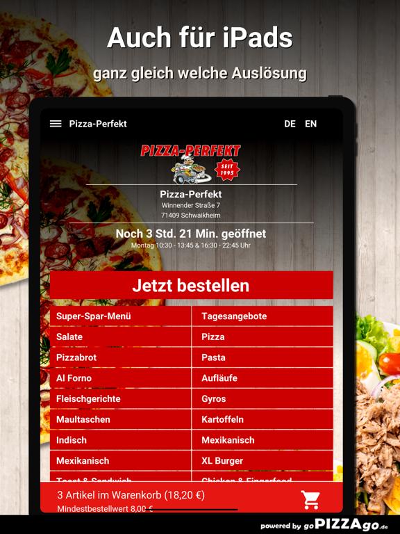 Pizza-Perfekt Schwaikheim screenshot 7