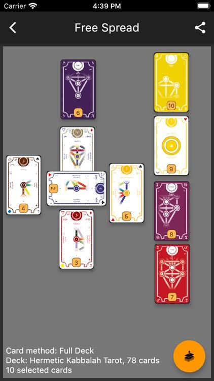 The One Tarot screenshot-4