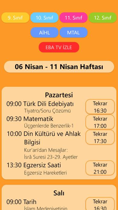 Eba Tv Ders Programı – Canlı 2