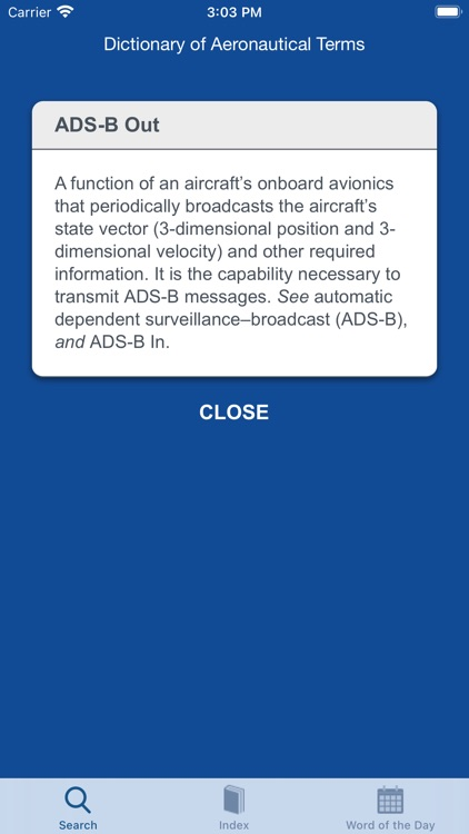 Aviation Dictionary screenshot-4