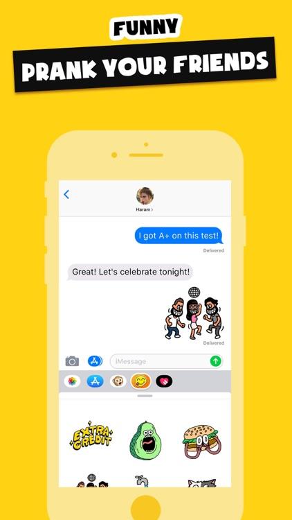 Stickers Funny of Meme & Emoji screenshot-6