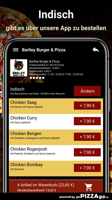 Barlley Burger - Pizza Essen screenshot 6