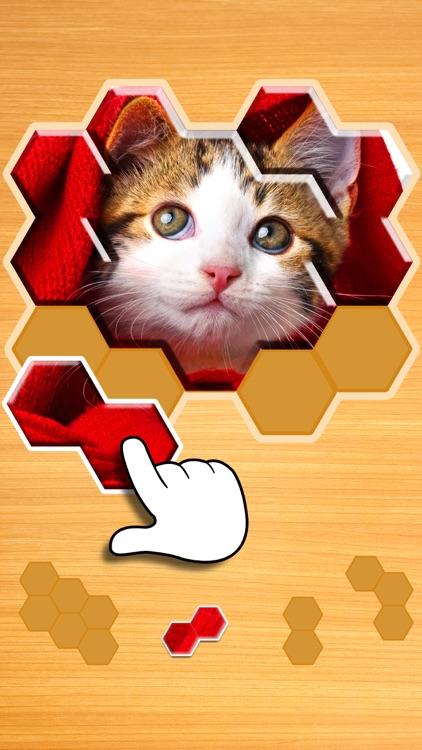 Jigsaw Puzzles Hexa Ⓞ screenshot-0