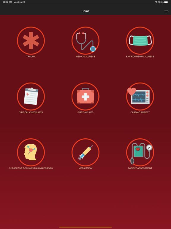 Ipad Screen Shot Wilderness Medicine Reference 1