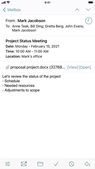 Screenshot #3 pour GW Mailbox