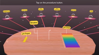 pH Test Different Solution screenshot 3
