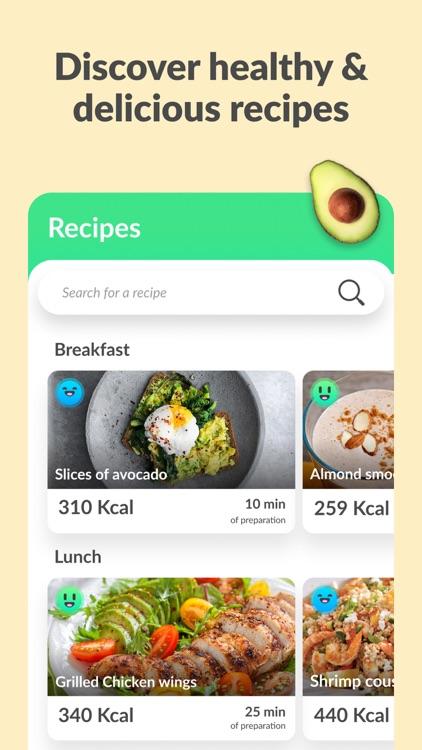 Foodvisor - Calorie Counter screenshot-3