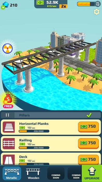 Idle Bridge Design screenshot 2