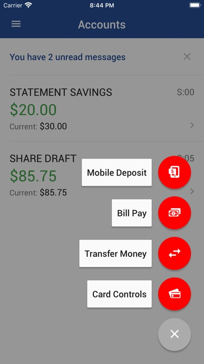 PSFCU Mobile Banking screenshot-2