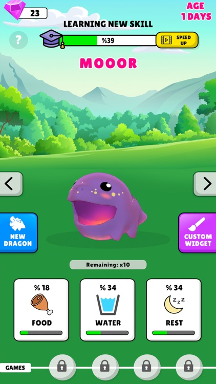 Widget Dragon