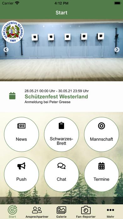 Schützenverein Buchholz 1901Screenshot von 2