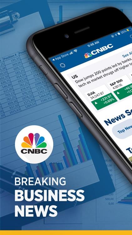 CNBC: Stock Market & Business screenshot-0