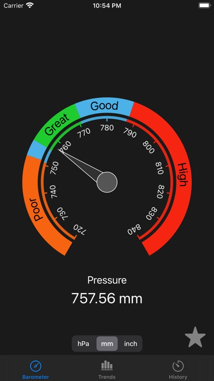 AtmoBarometer screenshot-1