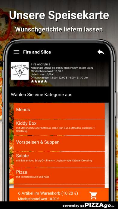 Fire and Slice Heidenheim screenshot 4
