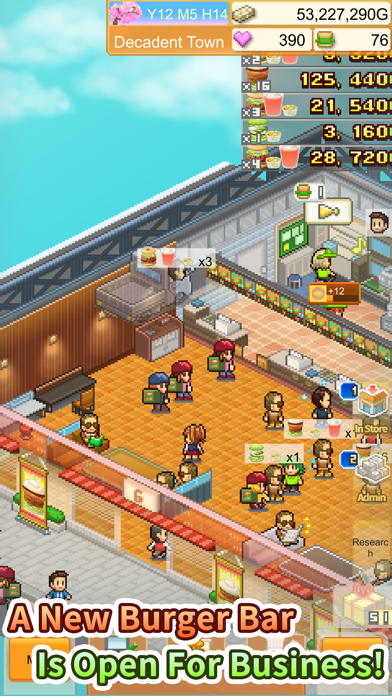 Burger Bistro Story screenshot 1