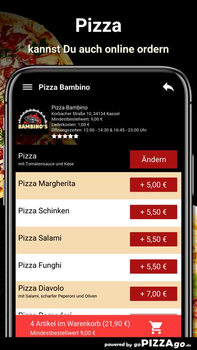 Pizza Bambino Kassel screenshot 5