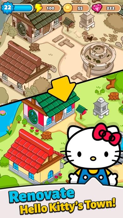 Hello Kitty - Merge Town紹介画像1