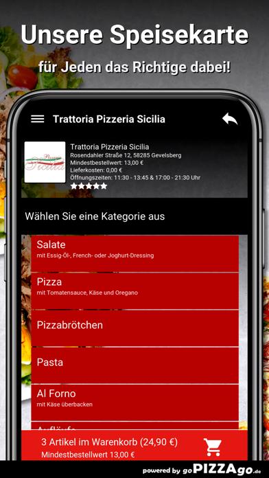 Pizzeria Sicilia Gevelsberg screenshot 4
