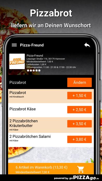 Pizza-Freund Hannover screenshot 6