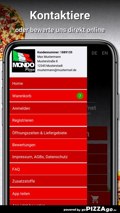 Pizza Mondo München screenshot 2