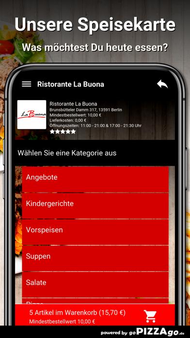 Ristorante La Buona Berlin screenshot 4