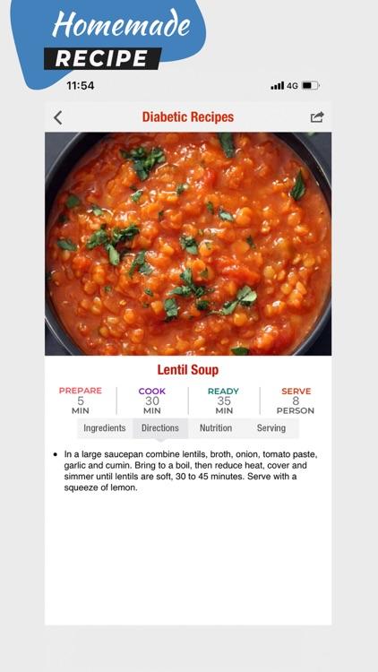 100+ Diabetic Recipes screenshot-3