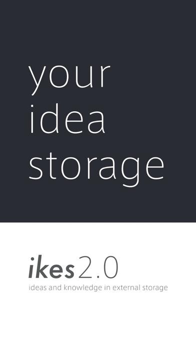 Ikes - idea storage Screenshot