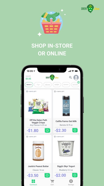 GreenJinn Cashback App US screenshot-4