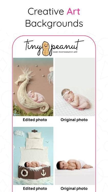 Tiny Peanut: Baby Photo Editor screenshot-4