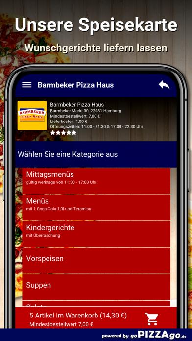 Barmbeker Pizza Haus Hamburg screenshot 5