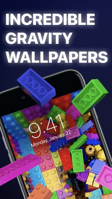 Gravity - Live Wallpapers 3D Screenshot