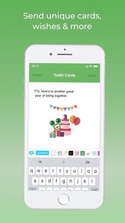 Todili : Birthday Reminder screenshot-4