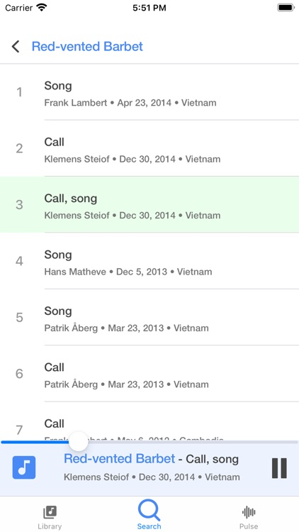 Bird Calls and Songs screenshot-3