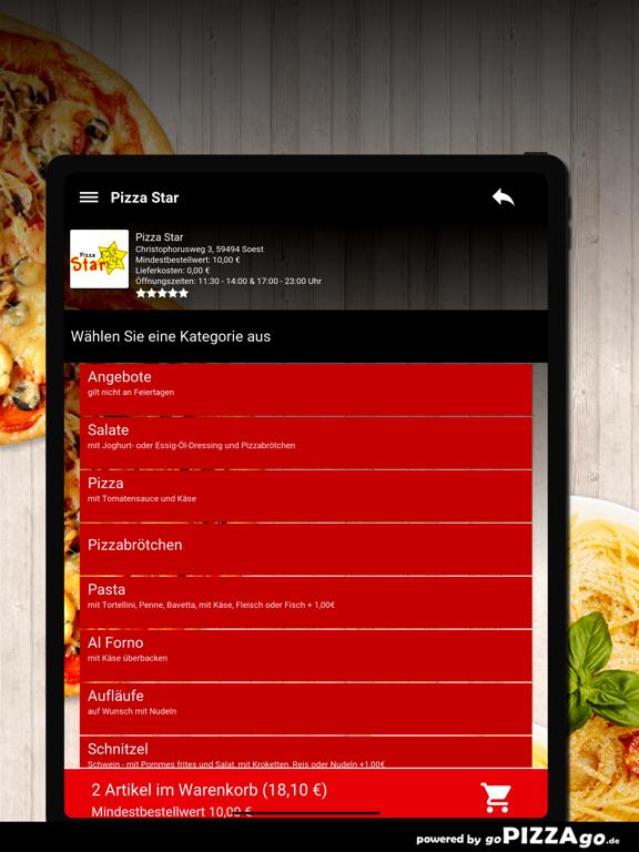 Pizza Star Soest screenshot 8