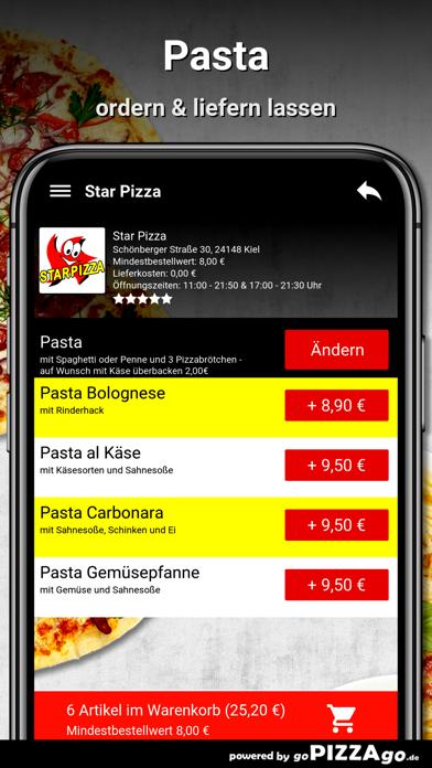 Star Pizza Kiel screenshot 6