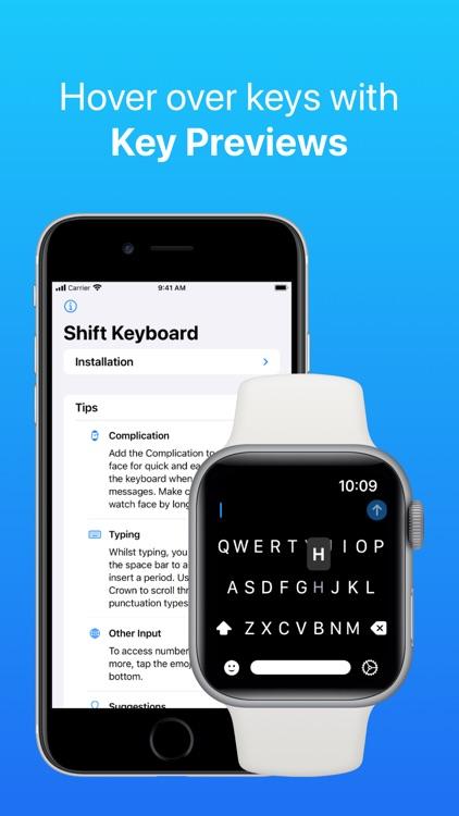 Shift Keyboard for Apple Watch screenshot-7