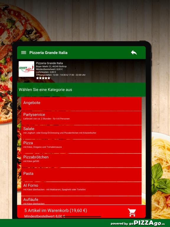 Pizzeria Grande Italia Bottrop screenshot 8