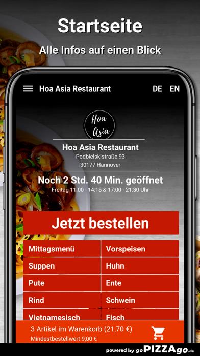 Hoa Asia Restaurant Hannover screenshot 2