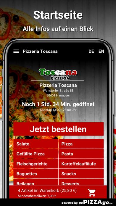 Pizzeria Toscana Hannover screenshot 2