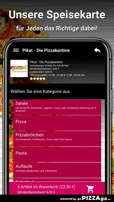 Pikat - Die Pizzakantine Kiel screenshot 4