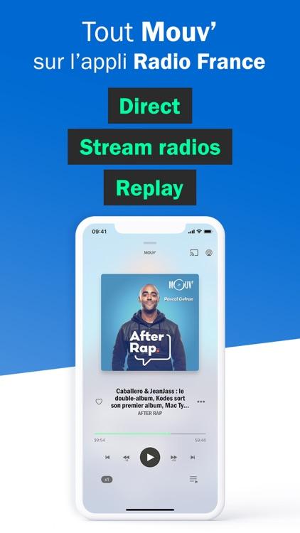 Radio France - radio, podcast screenshot-9