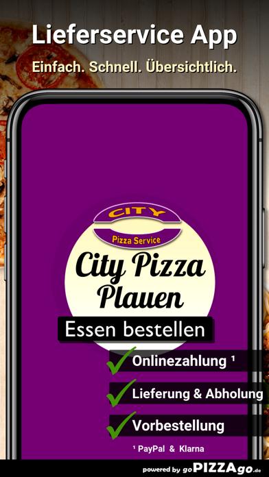 City-Pizza Plauen screenshot 1